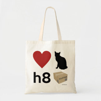 'Love Cats Hate Clutter' Bag