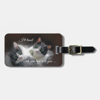 Love Cats Luggage Tag