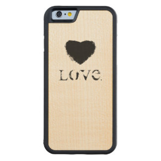 Love. Cell Phone Case Maple iPhone 6 Bumper
