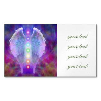 Love,chakra,angel,god,healer,healing,yoga,heal, Magnetic Business Card