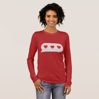 Love Chatting Long Sleeve T-Shirt