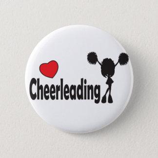 Love Cheerleading 6 Cm Round Badge