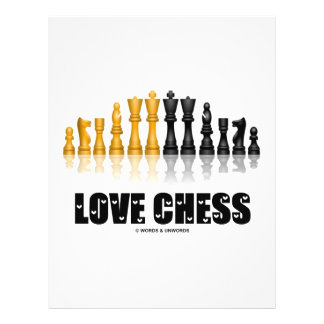 Love Chess 21.5 Cm X 28 Cm Flyer