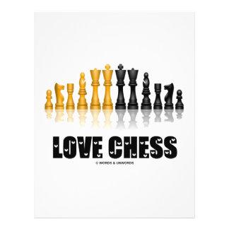 Love Chess Full Color Flyer