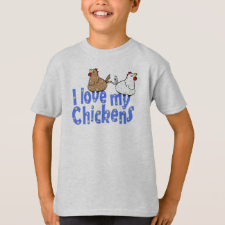 Love Chickens Childrens T-shirt