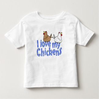 Love Chickens - Kid's T-shirt