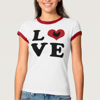 LOVE - Chickens T-shirts
