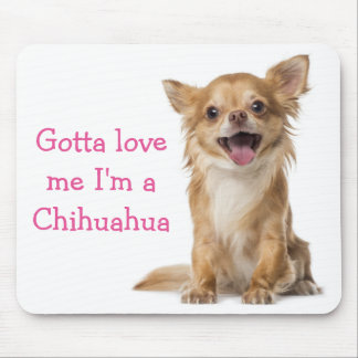Love Chihuahua Puppy Dog Mouse Pad