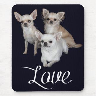 Love Chihuahua Puppy Dog Mousepad