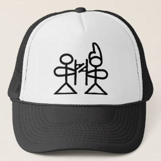Love, Chinese hieroglyph(Dongba) Trucker Hat