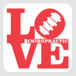 LOVE Chiropractic Stickers