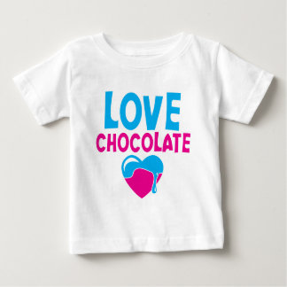 LOVE CHOCOLATE! with dripping heart T Shirt