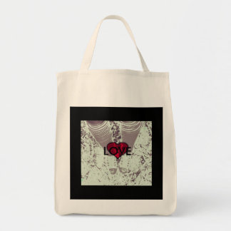 Love chucks tote bag
