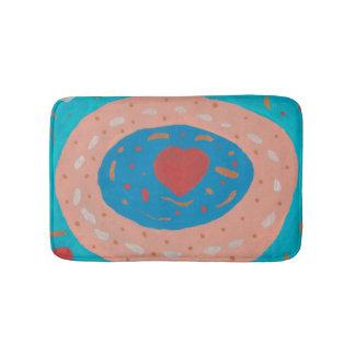 Love Circles Bath Mat