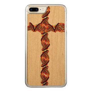Love circles cross iPhone 7 plus Carved iPhone 7 Plus Case