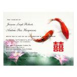 Love Circles | Lotus Koi Double Happiness Wedding