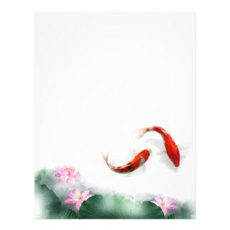 Love Circles | Lotus Koi Orient Hormony Art Full Color Flyer