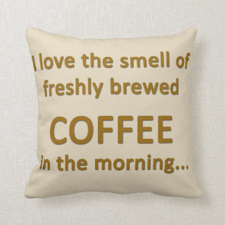 Love Coffee Pillow