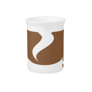 Love coffee pitcher