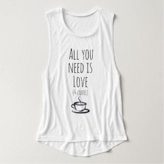 Love & Coffee Tank Top