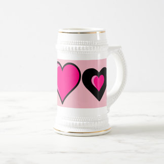 Love Coffee Tea Favorite Beverage Beer Stein