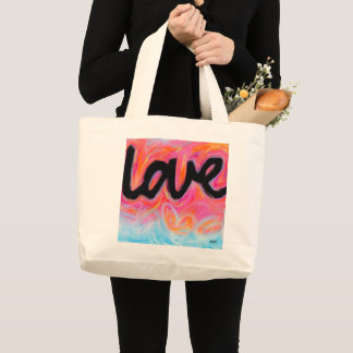 """LOVE"" Collection Jumbo Tote"