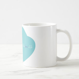 Love Color Love Life Basic White Mug