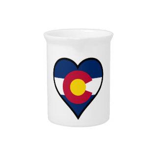 Love Colorado Beverage Pitcher
