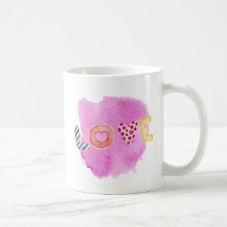 Love Colorful Pattern Mug