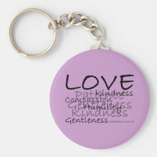 Love (Colossians 3) Keychain