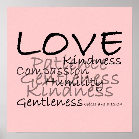 Love Colossians 3 Poster