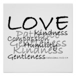 Love (Colossians 3) Poster
