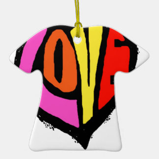 LOVE COLOUR CHRISTMAS TREE ORNAMENT