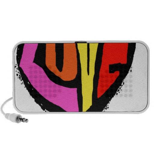 LOVE COLOUR iPod SPEAKERS