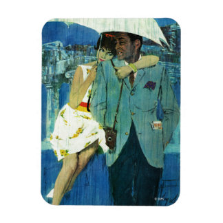 Love Comes to Miss Lucas Rectangular Photo Magnet