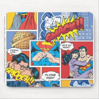 Love Comic Slides - Color Mouse Pad