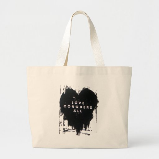 Love Conquers All Bags