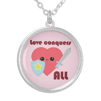 Love Conquers All Kawaii Heart Jewelry