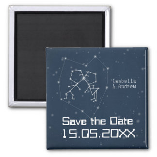 Love Constellation  Save the Date Magnet