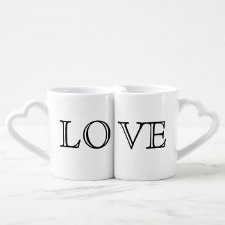 LOVE Couple's Mugs Lovers Mug