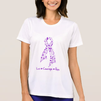 Love Courage Hope Butterfly - Pancreatic Cancer Tees