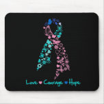 Love Courage Hope Butterfly -  Thyroid Cancer