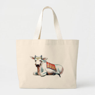 Love Cow Large Tote Bag