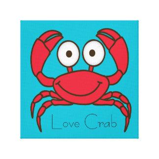 Love Crab Gallery Wrap Canvas