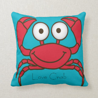 Love Crab Pillow