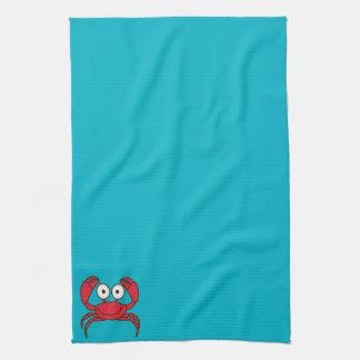 Love Crab Tea Towel