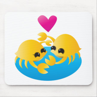 Love Crabs Mouse Pad