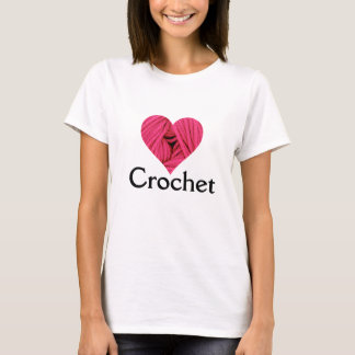 Love Crochet T-shirt