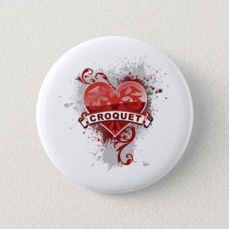 Love Croquet 6 Cm Round Badge