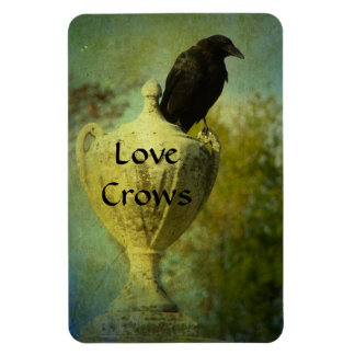 Love Crows Magnet
